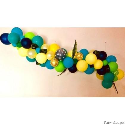 [1 roll] Balloon Chain Double Hole
