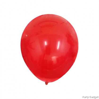 [10pcs] 5 inch Standard Red Round Small Latex Balloon