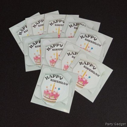 [10pcs] Happy Birthday Wish Card | Greeting Card | Gift Card | Pop Out Theme